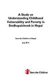 Save the children in Nepal - Vulnerability